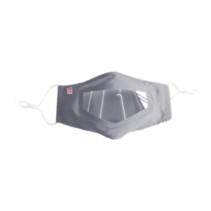 Crowdhealth Reusable Mask With Clear Window